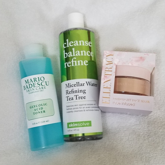 Cleanser Toner And Face Mask Nwt